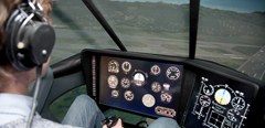 TsAGI's specialists commissioned a new helicopter flight simulator