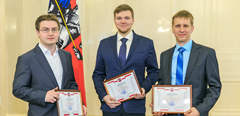 TsAGI specialists awarded with the young scientists' grant of the Moscow Government
