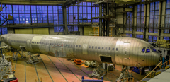 MC-21 fuselage delivered to TsAGI for endurance testing